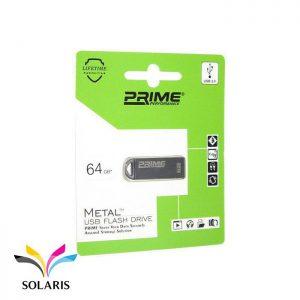فلش مموری Prime مدل Metal ظرفیت 64گیگابایت