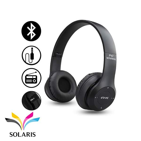 headset-bluetooth-p47-black