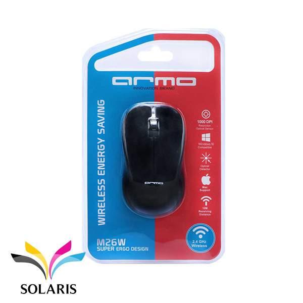 mouse-armo-m26w-black