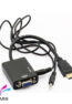 مبدل کابلی VGA to HDMI