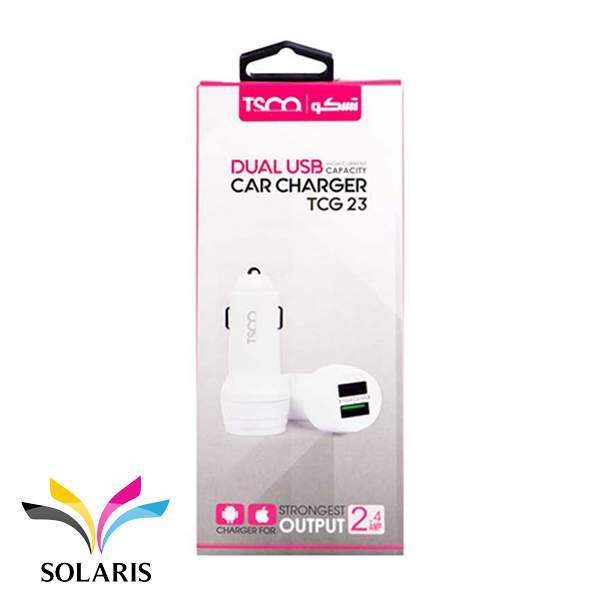 car-charger-tsco-tcg23-box