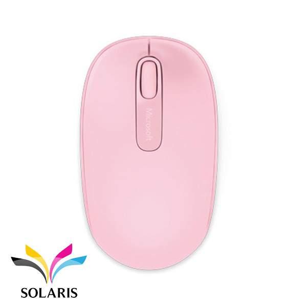 mouse-wireless-microsoft-1850-pink
