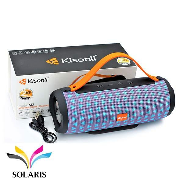 speaker-bluetooth-kisonli-led803-blue