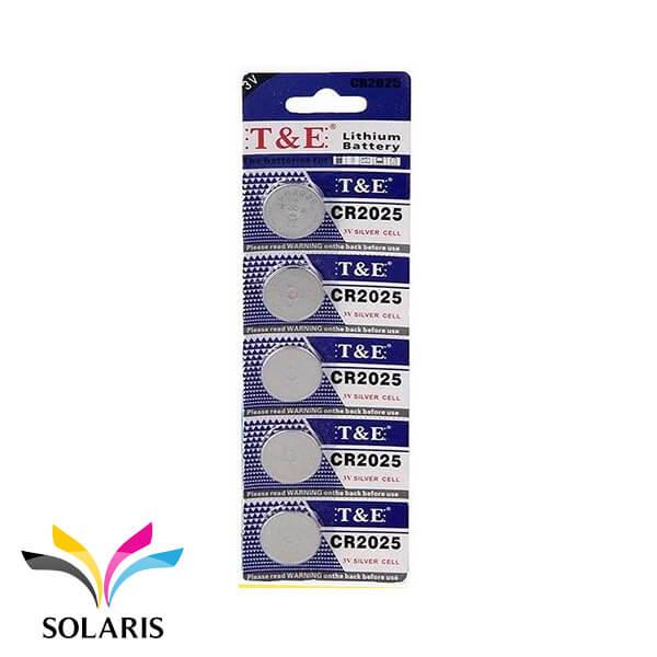 lithium-coin-battery-cr2025