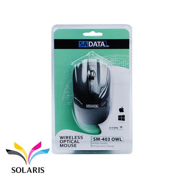 SADATA-SM-403-OWL-wireless-mouse
